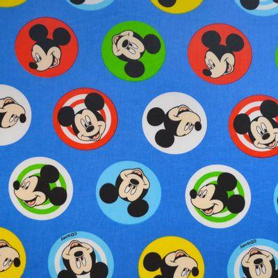 Tecido-Tricoline-Colecao-Disney-Mickey-Buttons-Fundo-Azul-Della-Aviamentos