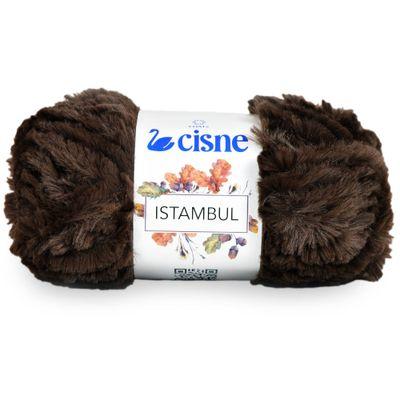 La-Istambul-Cisne-100g-Cor-358-Marrom-Della-Aviamentos