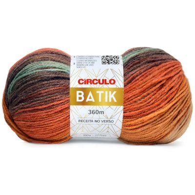 La-Batik-Circulo-100g-Cor-9451-Mescla-Casca-Marrom-Creme-Della-Aviamentos