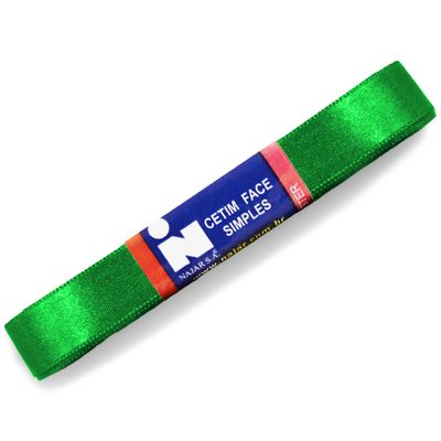 Fita-de-Cetim-Najar-nº-03-15-mm-Pacote-de-10-metros-Cor-23-Verde-Bandeira-Della-Aviamentos