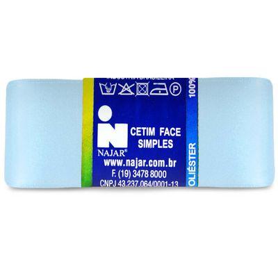 Fita-de-Cetim-Najar-nº-09-38-mm-Pacote-de-10-metros-Cor-11-Azul-Bebe-Della-Aviamentos