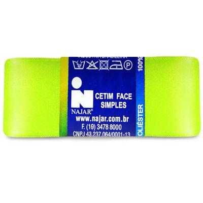 Fita-de-Cetim-Najar-nº-09-38-mm-Pacote-de-10-metros-Cor-27-Verde-Citrico-Della-Aviamentos