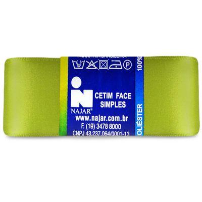 Fita-de-Cetim-Najar-nº-09-38-mm-Pacote-de-10-metros-Cor-70-Verde-Sistine-Della-Aviamentos