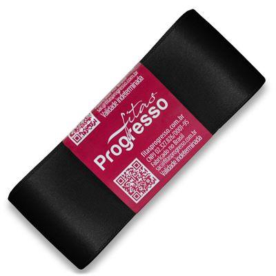 Fita-de-Cetim-Progresso-nº-09-38-mm-Pacote-de-10-metros-Cor-219-Preto-Black-Della-Aviamentos