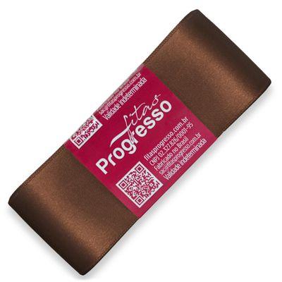 Fita-de-Cetim-Progresso-nº-09-38-mm-Pacote-de-10-metros-Cor-391-Marrom-Brown-Della-Aviamentos