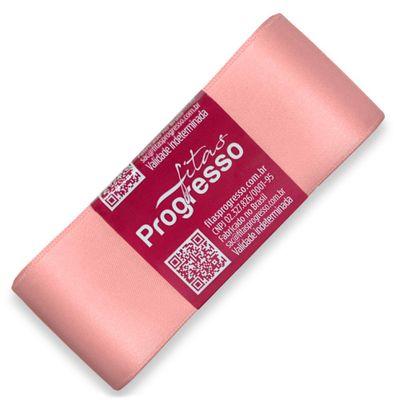 Fita-de-Cetim-Progresso-nº-09-38-mm-Pacote-de-10-metros-Cor-392-Salmao-Peach-Della-Aviamentos