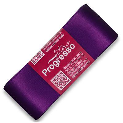 Fita-de-Cetim-Progresso-nº-09-38-mm-Pacote-de-10-metros-Cor-675-Violeta-Purple-Della-Aviamentos