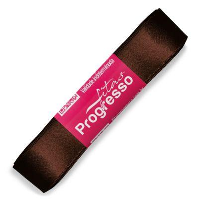 Fita-de-Cetim-Progresso-nº-05-22-mm-Pacote-de-10-metros-Cor-340-Marrom-Cafe-Chocolate-Della-Aviamentos