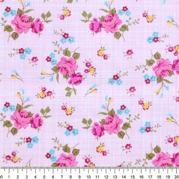 Tecido-Tricoline-Estampado-Floral-Rosa-Fundo-Rosa-Della-Aviamentos-8728
