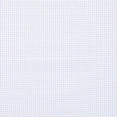 Tecido-Tricoline-Estampado-Xadrez-Lilas-Fundo-Branco-Della-Aviamentos.