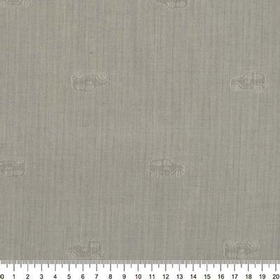 Tecido-Tricoline-Estampado-Textura-Listrado-Carrinho-Fundo-Cinza-Della-Aviamentos-7785