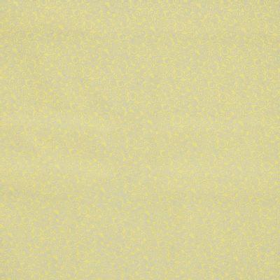Tecido-Tricoline-Estampado-Textura-Caracol-Cinza-Fundo-Amarelo-Della-Aviamentos.