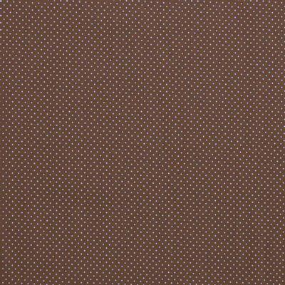 Tecido-Tricoline-Estampado-Poa-Azul-Fundo-Marrom-Della-Aviamentos.