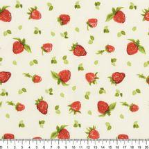 Tecido-Tricoline-Estampado-Frutas-Morangos-Fundo-Bege-Della-Aviamentos-7459