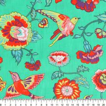 Tecido-Tricoline-Estampado-Floral-Eden-Fundo-Verde-Della-Aviamentos-7623