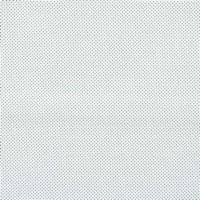 Tecido-Tricoline-Estampado-Poa-Mini-Preto-Fundo-Branco-Della-Aviamentos.
