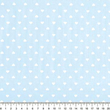 Tecido-Tricoline-Estampado-Coracao-Fundo-Azul-Claro-Della-Aviamentos-8744