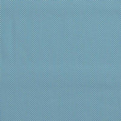 Tecido-Tricoline-Estampado-Poa-Mini-Bege-Fundo-Azul-Della-Aviamentos.