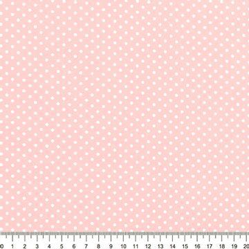 Tecido-Tricoline-Estampado-Poa-Pequeno-Branco-Fundo-Rosa-Bebe-Della-Aviamentos-8731