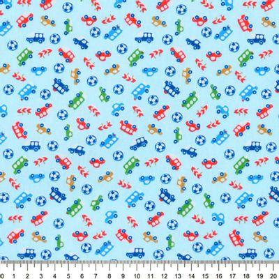 Tecido-Tricoline-Estampado-Infantil-Carrinhos-Fundo-Azul-Della-Aviamentos-9036