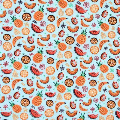Tecido-Tricoline-Estampado-Frutas-Fundo-Azul-Della-Aviamentos