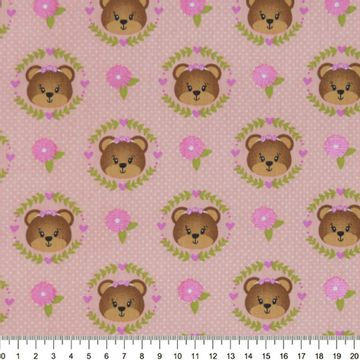 Tecido-Tricoline-Estampado-Infantil-Urso-Faces-Fundo-Rosa-Della-Aviamentos-9045