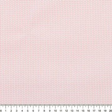 Tecido-Tricoline-Estampado-Textura-Branco-Fundo-Rosa-Della-Aviamentos-9058