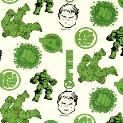 Tecido-Tricoline-Colecao-Marvel-Hulk-Fundo-Bege-Della-Aviamentos