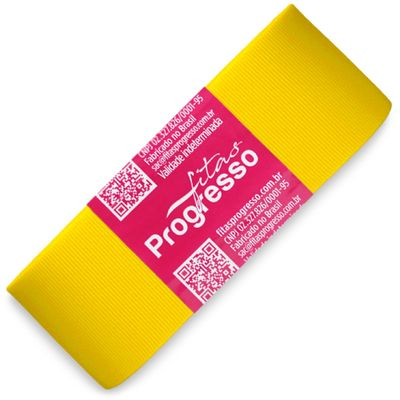 Fita-de-Gorgurao-Progresso-nº-09-38-mm-Pacote-de-10-metros-Cor-763-Amarelo-Gema-Yellow-Gold-Della-Aviamentos