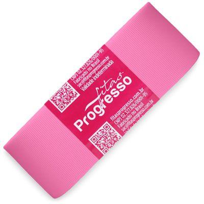 Fita-de-Gorgurao-Progresso-nº-09-38-mm-Pacote-de-10-metros-Cor-1364-Rosa-Chiclete-Bubblegum-Pink-Della-Aviamentos