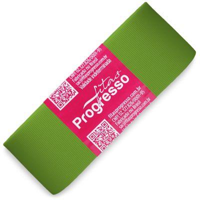 Fita-de-Gorgurao-Progresso-nº-09-38-mm-Pacote-de-10-metros-Cor-677-Verde-Folha-Moss-Della-Aviamentos