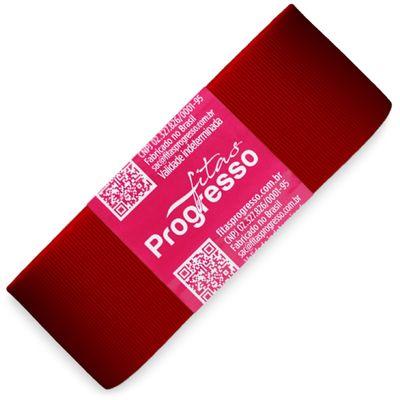 Fita-de-Gorgurao-Progresso-nº-09-38-mm-Pacote-de-10-metros-Cor-209-Vermelho-Red-Della-Aviamentos