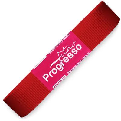 Fita-de-Gorgurao-Progresso-nº-05-22-mm-Pacote-de-10-metros-Cor-209-Vermelho-Red-Della-Aviamentos