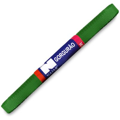 Fita-de-Gorgurao-Najar-nº-01-7-mm-Pacote-de-10-metros-Cor-23-Verde-Bandeira-Della-Aviamentos