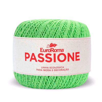Linha-Passione-EuroRoma-150g-400m-801-Verde-Limao-Della-Aviamentos