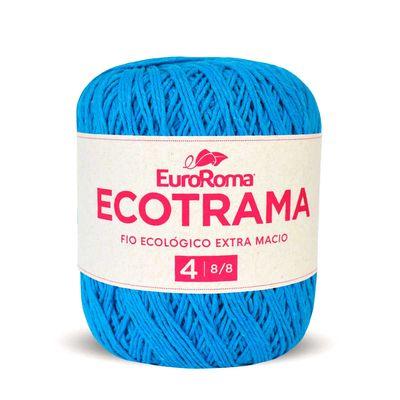 Barbante-Ecotrama-EuroRoma-200g-Della-Aviamentos-901-Azul-Piscina-Della-Aviamentos