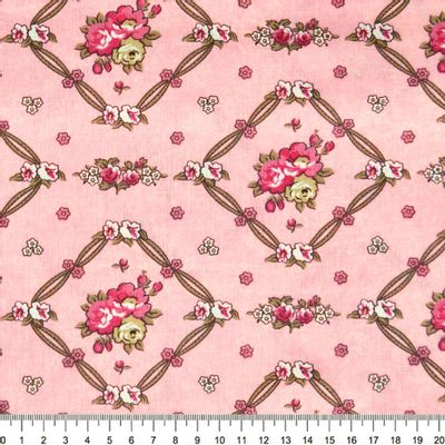 Tecido-Tricoline-Floral-Vivien-Leigh-Fundo-Rosa