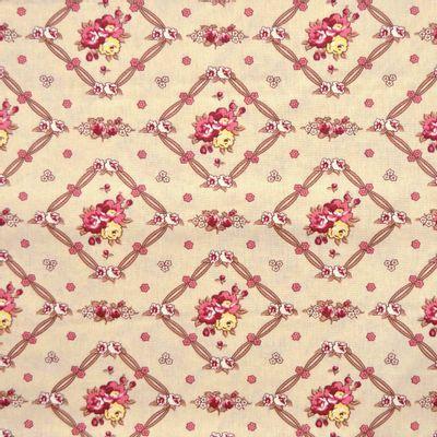 Tecido-Tricoline-Floral-Vivien-Leigh-Fundo-Cru-9208