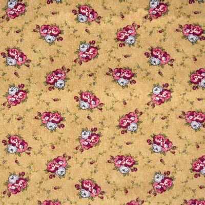 Tecido-Tricoline-Floral-Marilyn-Monroe-Fundo-Bege-9187