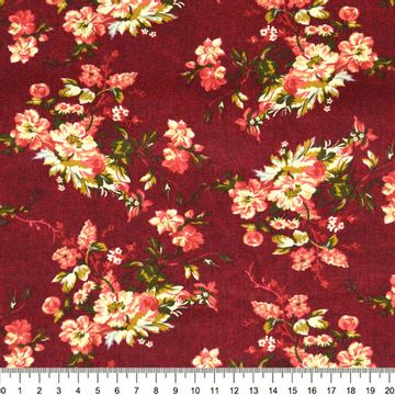 Tecido-Tricoline-Floral-Catherine-Fundo-Bordo