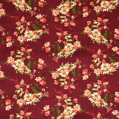 Tecido-Tricoline-Floral-Catherine-Fundo-Bordo-9185