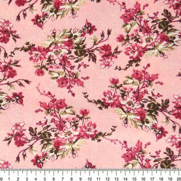 Tecido-Tricoline-Floral-Catherine-Fundo-Rosa