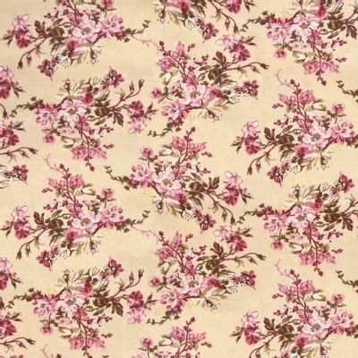 Tecido-Tricoline-Floral-Catherine-Fundo-Cru-9186