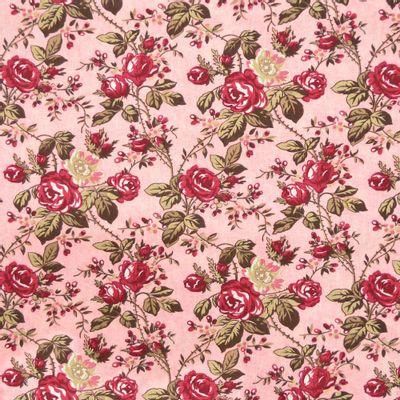Tecido-Tricoline-Floral-Grace-Kelly-Fundo-Rosa-9192