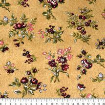 Tecido-Tricoline-Floral-Elizabeth-Taylor-Fundo-Bege