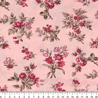 Tecido-Tricoline-Floral-Elizabeth-Taylor-Fundo-Rosa
