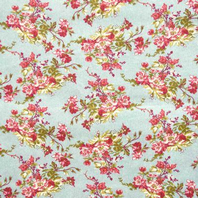 Tecido-Tricoline-Floral-Catherine-Fundo-Verde-Jade-9184