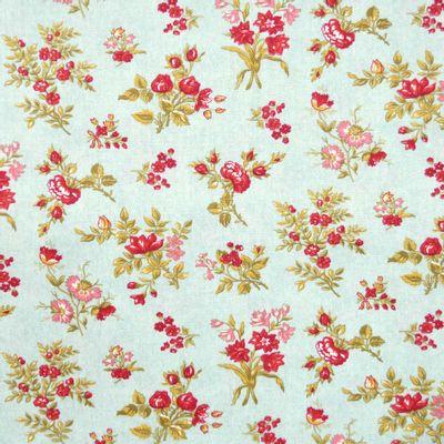 Tecido-Tricoline-Floral-Elizabeth-Taylor-Fundo-Verde-Jade-9176