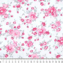 Tecido-Tricoline-Floral-Suelen-Flor-Fundo-Rosa-Cinza