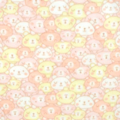Tecido-Microsoft-Estampado-Urso-Faces-Rosa-9006